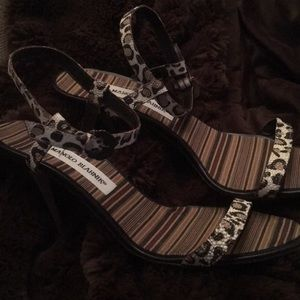 Manolo Blahnik Strappy Sandals